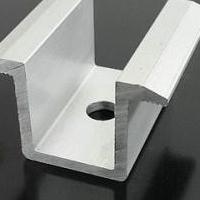 太阳能光伏电站组件安装铝合金夹具生产加工