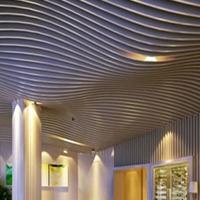 咖啡店門頭弧形鋁方通常規