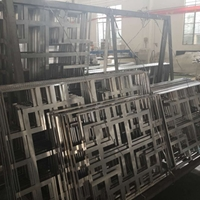 會所中式鋁花格-冰裂紋鋁窗花價格