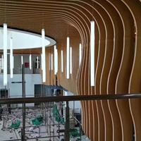 广州艺术弧形铝方通加工制作技术