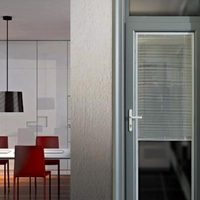 深铝门窗140-2.0系列窗纱一体管式门