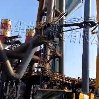 高炉煤气放散点火装置的三面保护