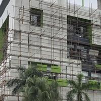街区改造冲孔氟碳铝单板时尚装饰效果
