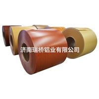 濟南仿木紋鋁卷價格 木紋鋁卷廠家