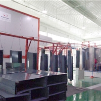 新月全自动喷涂生产线提供先进生产工艺