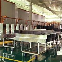 新月鋁合金噴涂設備有條不紊的生產操作