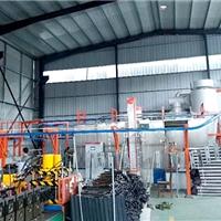 新月环保喷涂生产线现代化精密加工生产设备