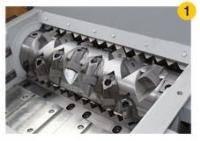 废弃铜芯电缆破碎机 单轴撕碎设备