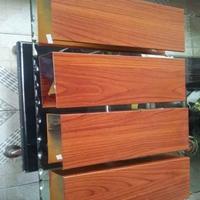 昆明喷涂木纹铝方管订做  型材铝方通供应商