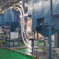 链管式粉体输送机 氧化铝粉350管链机厂家