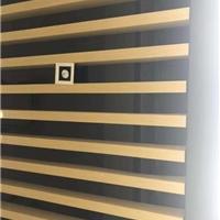 條形木紋鋁方通-鋁方通天花吊頂