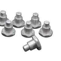藍泰五金自產自銷臺階鋁半空心鉚釘