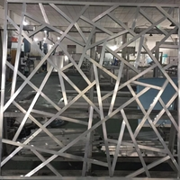 加工生產復古鋁窗花,木紋鋁掛落
