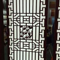 制作焊接仿古木纹铝窗花厂家
