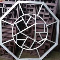 墙面隔断装饰-仿古铝花格