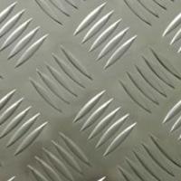 花纹铝板价格 五条筋防滑铝板