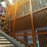 小區售樓中心木紋鋁窗格實惠定制價格