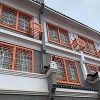 小区装饰中式铝窗花铝花格厂家