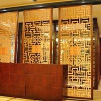 港式酒樓鋁窗花 高檔公寓鋁窗花  均可定制