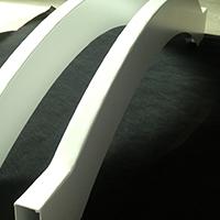 异形造型铝方通吊顶