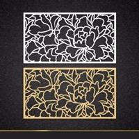 镌刻铝板窗花_细腻铝板镌刻窗花