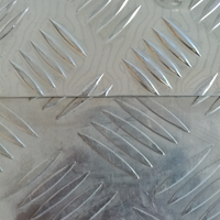 车用防滑铝板-五条纹花纹板