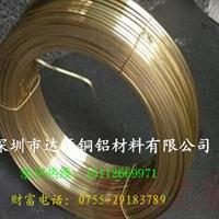 黄铜扁线  国标H62黄铜方线供货商