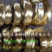 进口黄铜线 H68一级黄铜线规格齐全