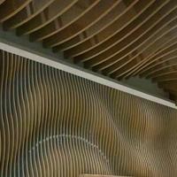 弯曲铝方通吊顶,拱形铝方通厂家