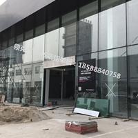 江苏吉利领克汽车店黑色铝单板门头
