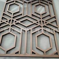 阳极氧化金属感铝窗花 镂空铝单板背景墙