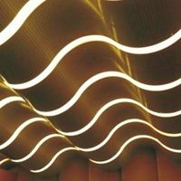 直销弧形铝方通吊顶给你一个豪华的装修效果
