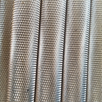 铝合金管拉花 铝管直纹滚花 网纹拉花铝管