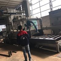 铝模板翻新使用HJ-ZD1600抛丸机械