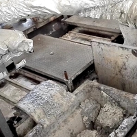定制重熔用鋁錠刮渣機器人