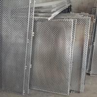 重庆冲孔铝单板是多少一平方