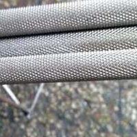 网纹滚花6061铝棒现货 铝棒拉花加工