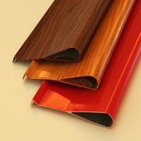 木纹铝挂片 木纹铝方通定制各型号