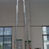 双桅柱电动铝合金升降机梯子