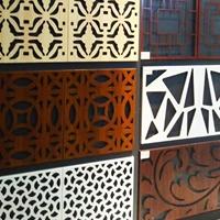 各种木纹雕花铝单板 镂空幕墙铝单板