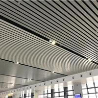广东铝方通吊顶厂家,弧形铝方通定制
