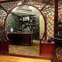 仿古木紋鋁窗花廠家生產規格顏色任意定制