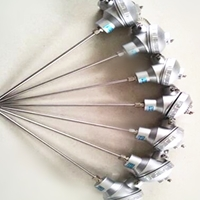 K型鎧裝溫度傳感器固定螺紋熱電偶WRNK-231