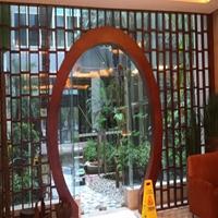 福州市木纹铝窗花格铝防护拦规格定制厂家