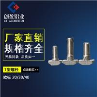欧标T型螺栓工业铝型材螺杆紧固件