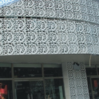 廠家直銷門頭造型鏤空鋁單板
