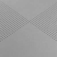 穿孔铝扣板,冲孔铝扣板,对角冲孔铝扣板