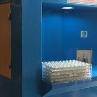 鋁管噴砂機-自動轉盤式鋁圓管噴砂設備