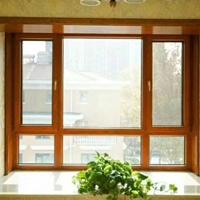 精研牌木纹转印建筑门窗型材