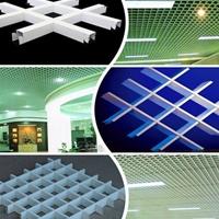 广州铝格栅厂家,三角形铝格栅